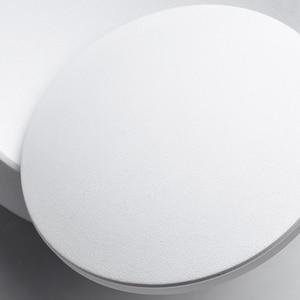 Image 5 - الإبداعية أضواء الجدار 360 درجة تدوير 5 واط 7 واط الحديثة السرير الجدار مصباح أبيض أسود مصابيح LED مستديرة الجدار مصباح أضواء الفن الزخرفية