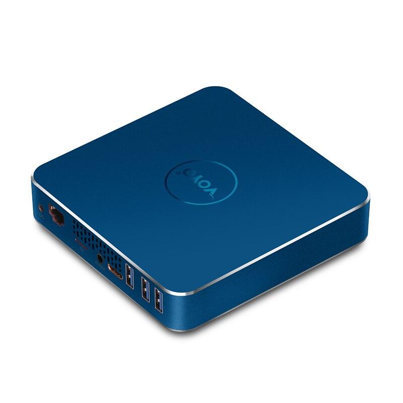 Small desktop computer Intel Apollo Lake N3450 4GB DDR3L 64GB 4K HDMI 12v mini PC V12