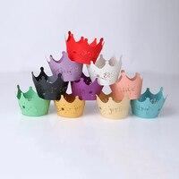 100 cái Công Chúa Vương Miện Giấy Ren Nho Cup Cake Đóng Gói Đảng Sinh Nhật Trang Trí Bé Tắm Đầu Tiên Trang Trí Bánh Sinh Nhật