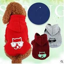 Fashion Various Colors Pet Dog Clothes Sweatshirt Hoodie Winter Warm Dogs Naval Knitted Sweater Hoodie Cute Coat S,M,L,XL XXL