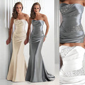 Royal Blue Evening Dresses Silver Gray High Quality Sweetheart Burdundy Champagne Mermaid Evening Dress Women Long Evening Gown
