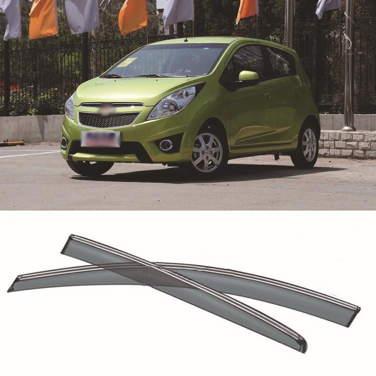4pcs Blade Side Windows Deflectors Door Sun Visor Shield For Chevrolet Spark 2012 4pcs blade side windows deflectors door sun visor shield for toyota verso ez 2011 2014