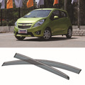 4pcs Blade Side Windows Deflectors Door Sun Visor Shield For Chevrolet Spark 2012