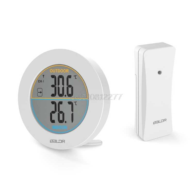 Detail Feedback Questions About Table Wireless Thermometer Lcd Display Indoor Outdoor Sensor Temperature H0vh Drop