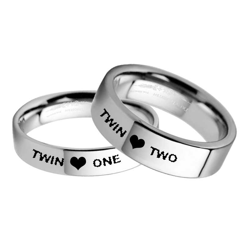 72c59828351da Detail Feedback Questions about Twins Ring Set Twin one Twin two ...