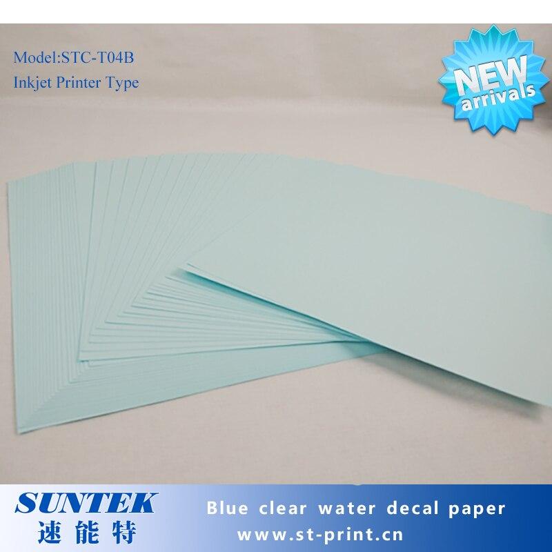 inkjet waterslide decal paper