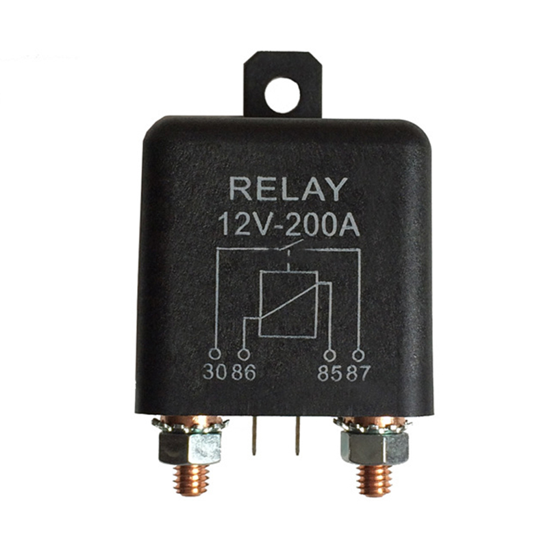 No Normally Open Relay Switch States