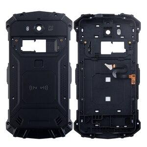 Image 2 - Ocolor Doogee S60 S60 Lite pil kutusu Bateria arka kapak kılıfı için yedek 5.2 inç Doogee S60 + kamera çerçeve + araçları