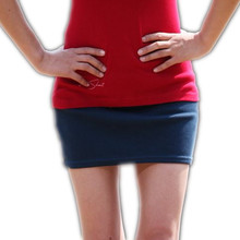 Free shipping Candy color short slim skirt cheap WOMEN Natural Above Knee Mini Straight NONE COTTON Solid Casual