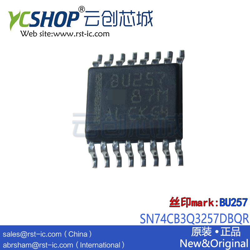 Bus-Switch SN74CB3Q3257DBQR BU257 FET 4-Bit Low-Voltage 1-Of-2 High-Bandwidth Multiplexer/demultiplexer