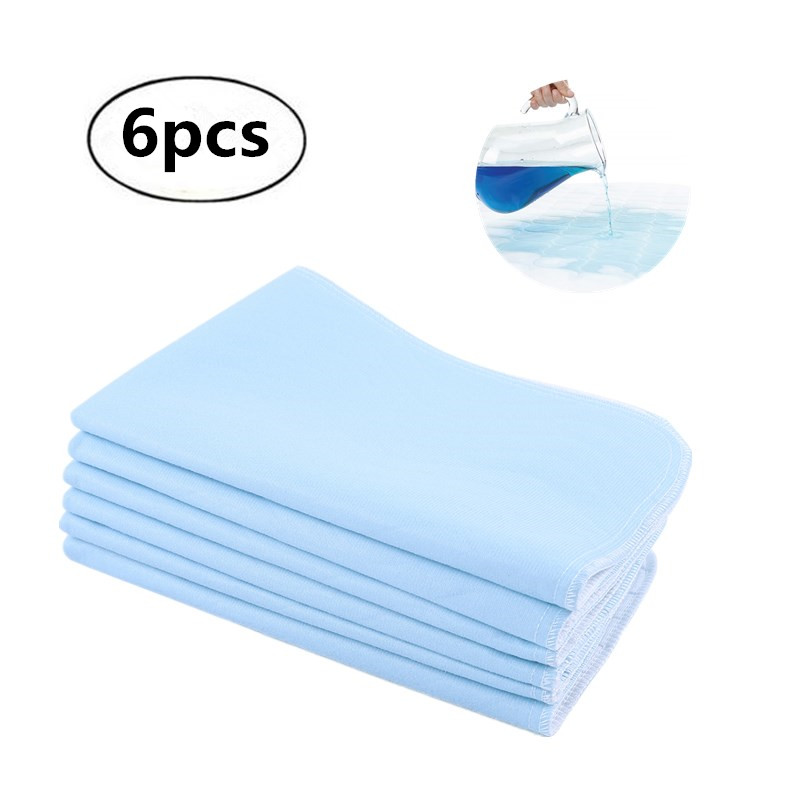 6pcs Reusable Washable Pad…