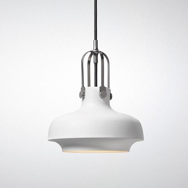 copenhagen sc6 pendant light white colour lampshade vintage loft lightings northern europe retro industrial pendant lamp antique industrial pendant lights white