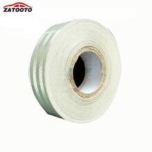 ZATOOTO 2 «* 150′ Высокое Качество Белый Трейлер Светоотражающие Предупреждение Светоотражающими Ленты видимости полосы Трейлер Грузовик Безопасности