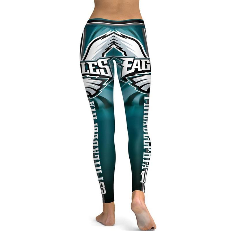 95a740f73eb8db SexeMara PHILADELPHIA EAGLE S 13 3D Print Women Leggings High Waist Legging  Steelers Printed Women Pants Slim Fitness Leggins -in Leggings from Women's  ...