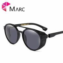 MARC UV400 NEW WOMEN Eyewear designer sunglasses Oculos fashion sol Plastic gafas Round Mirror Clear Wrap