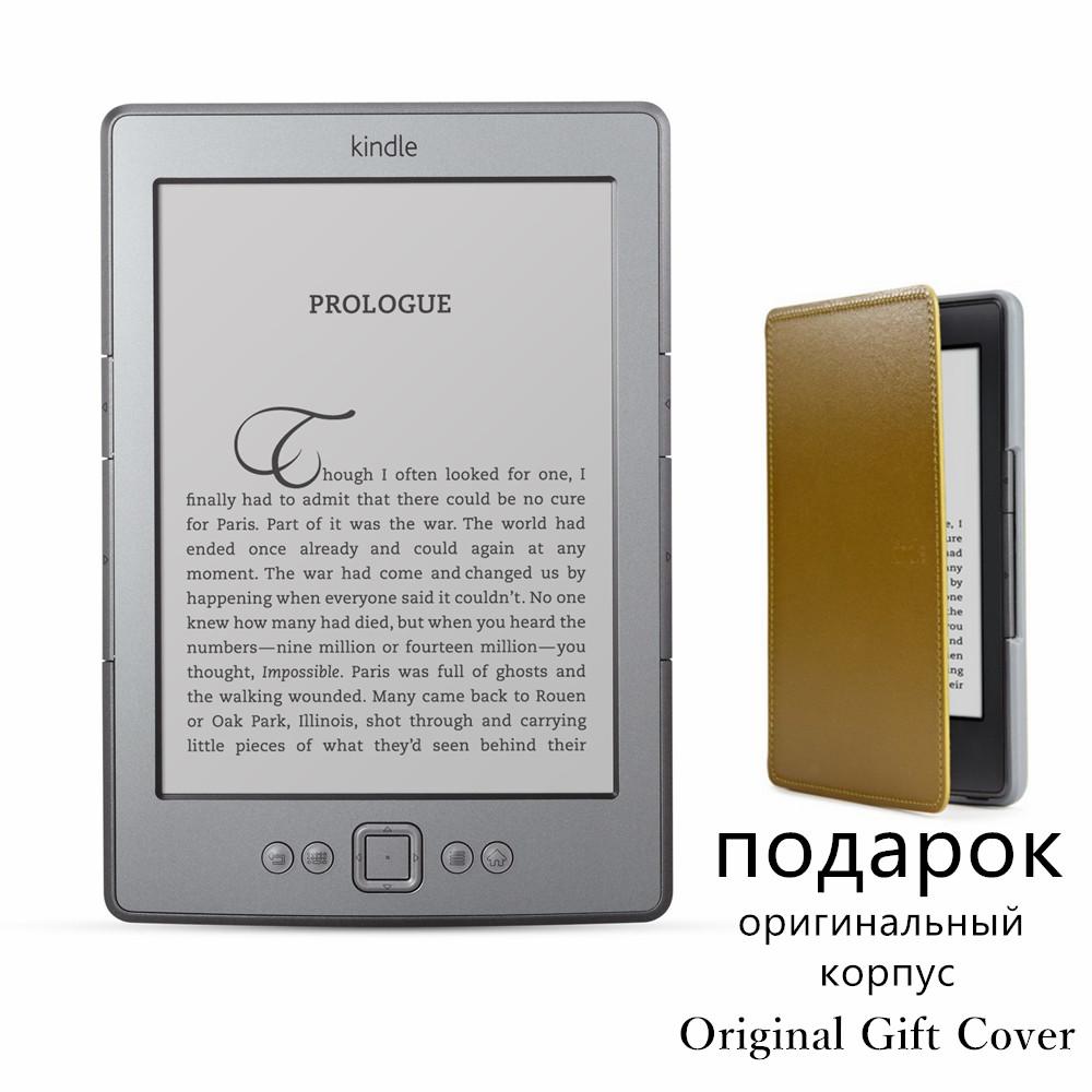 Prix pour Kindle 4 e-book e-ink affichage 6 pouce ebook lecteur électronique e livre gris ereader 2 gb couverture libre remis à neuf très bon état