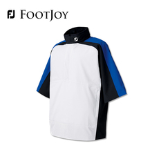 FootJoy FJ Men's Golf Clothes Short Sleeve Wind Coat Pullover Polyester Rain-Proof HOT SALE
