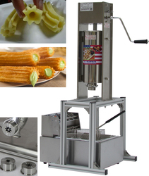 Commercial Spanish Churros Machine 5L Churro Maker Spanish Fried Dough Sticks