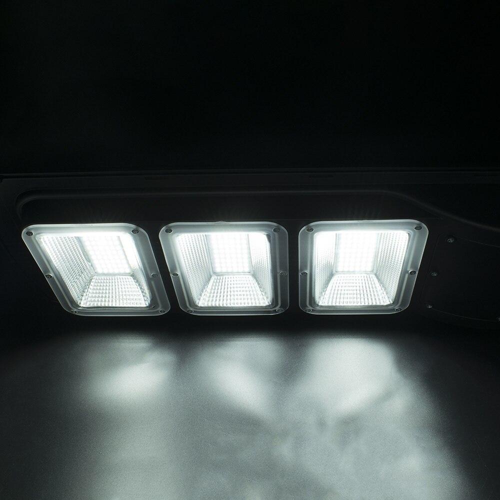 60W 120 LED Solare Luce Esterna Luce Solare del Sensore di Movimento Della Lampada Della Luce Della Parete Impermeabile Solar Powered Luce Del Sole per Porta del Giardino yard Decor - 5