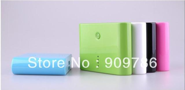 Colorful original 12000mah portable power External Battery Charger power bank 20pcs/lot free shipping