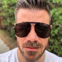 PAWXFB BRAND DESIGN Pilot Sunglasses Women Men Sun Glasses Male Goggle Shades 400UV