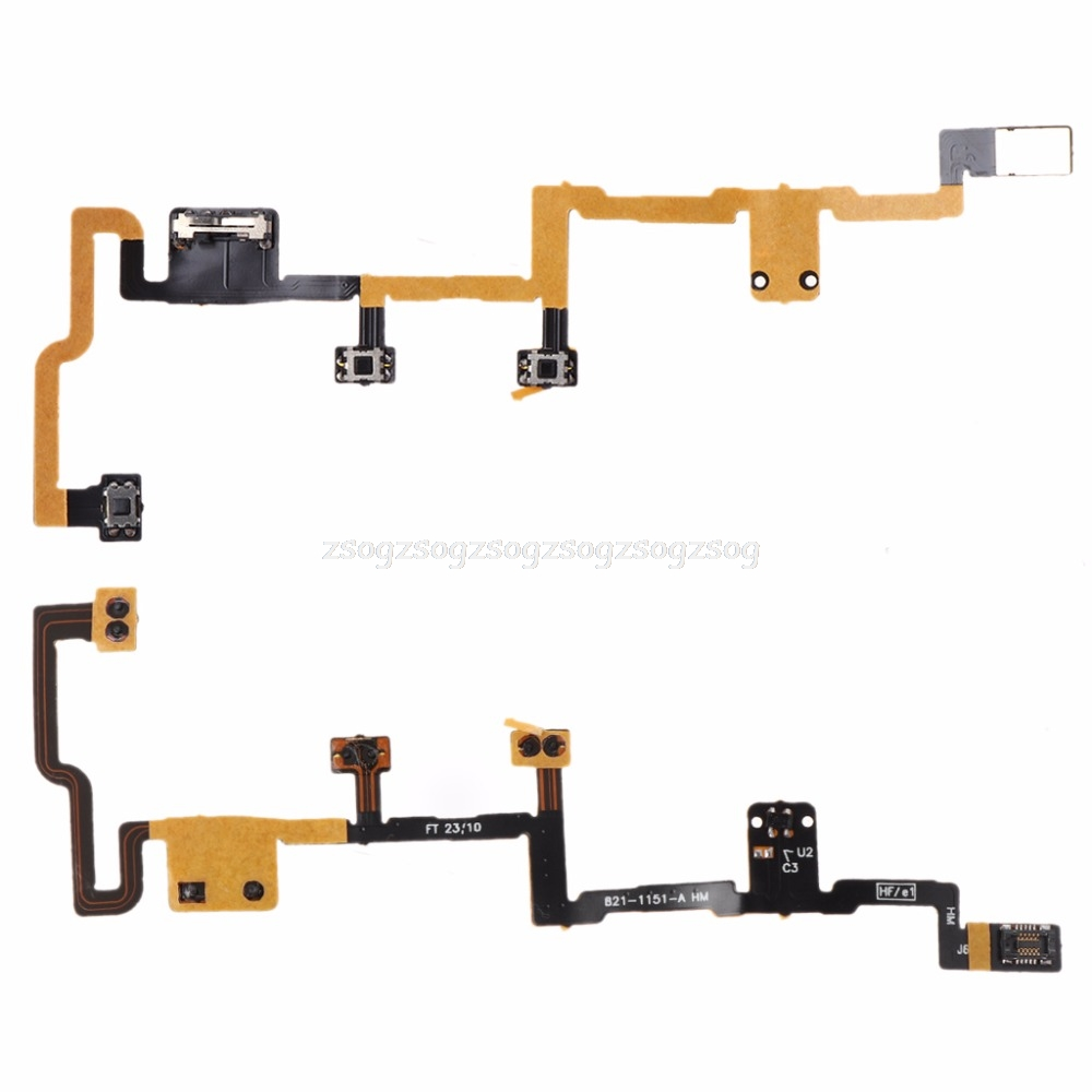 Audio & Video Replacement Parts Ribbon Flex Cable Power Button On Off Volume Control Replacement For Apple Ipad 6 Air 2 Dropshipping High Quality