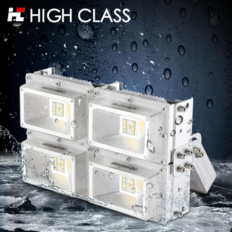 ФОТО Pro Patent IP67 Outdoor CREE LED Flood Light 30W 60W 90W 120W 150W 200W Waterproof Street Square Parking Billboard Floodlight