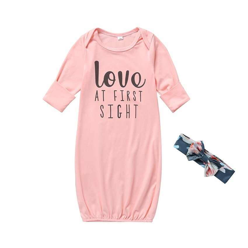 COSPOT Одежда для новорожденных девочек, для сна банный халат для новорожденных, пеленка для сна мешок Bebes кукла трансфер до халат для девочки комплекты для девочек + повязка на голову для маленьких девочек Комбинезон для сна 2019 Новый 25