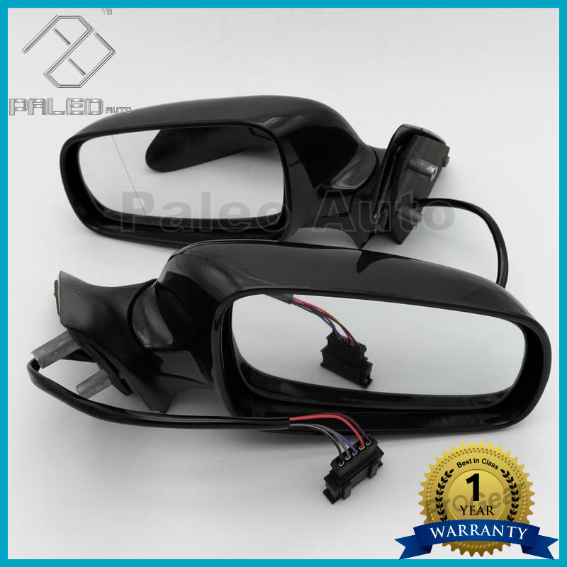 ФОТО 2PCS Free Shipping For Skoda Octavia A4 1U1 1997-2011 Left Hand Driver  Electrically Adjustable And Heated Mirror Left And Right