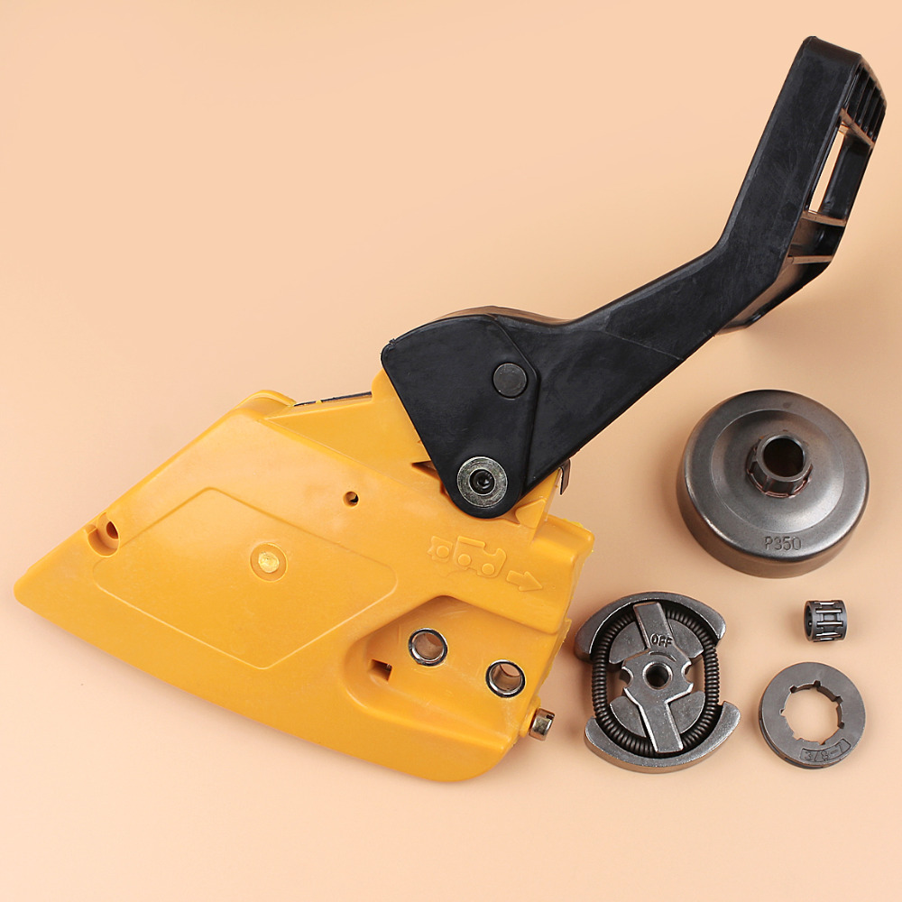 Brake Handle Clutch Cover Clutch Drum Kit For PARTNER 350 351 <font><b>MCCULLOCH</b></font> MAC <font><b>335</b></font> 435 440 <font><b>Chainsaw</b></font> Parts 530014949 image