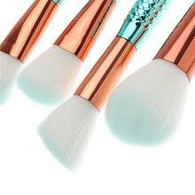 Pro Mermaid Makeup Brushes Set