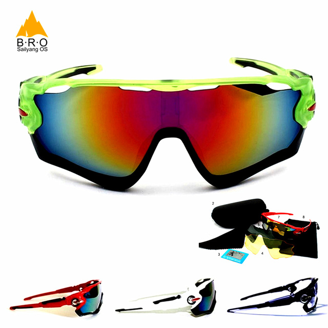 Hot Brand Polarized Cycling Glasses Men Glasses For Bicycles Mtb