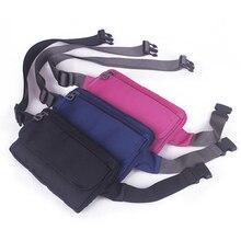 Unisex Running Jogging Bag Hip Bum Belt Cell Phone Purse Bag Polyester Fashion Coin Money Pocket Waist Pack