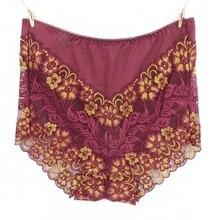 2018 High Quality Sexy Lace lingerie Hollow women's briefs Plus Size 5XL high waist Shaper underwear women panties intimates