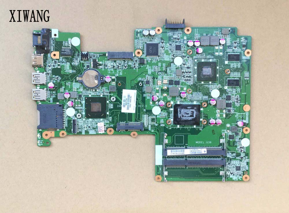 701699-501 Free shipping motherboard for HP Pavilion sleekbook 15 15T 15-B laptop 701699-001 HM77 DA0U36MB6D0 630M/1G I3-3217U free shipping 1pcs i3 3217u sron9 sron9 i3 3217u 100% new goods in stock