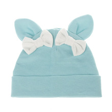New Baby Hat Toddler Cotton Rabbit Ear Warm Suitable for 6-24 Month Childrens Caps