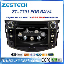 ZESTECH central multimedia Car dvd gps player for Toyota RAV4 Car dvd gps player with radio, digital tv promotion discount
