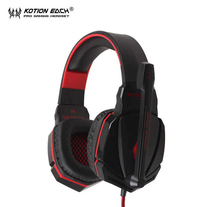 KOTION EACH G4000 Best PC Gamer Headset Gaming Headphone With Microphone headphones for computer pc headphone