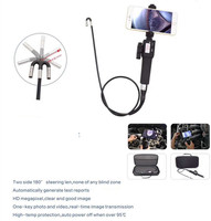 5.5mm 360 Degree View Angle Two Way Articulating 720P Mobile Direct Use Handheld Endoscope