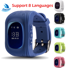 Q50 OLED HD Screen Smart Safe GPS GSM SOS Call Location Locator Tracker Watch Wristwatch for