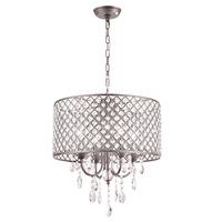 40cm Modern Contemporary Crystal Ceiling Lamp Chandelier Lighting