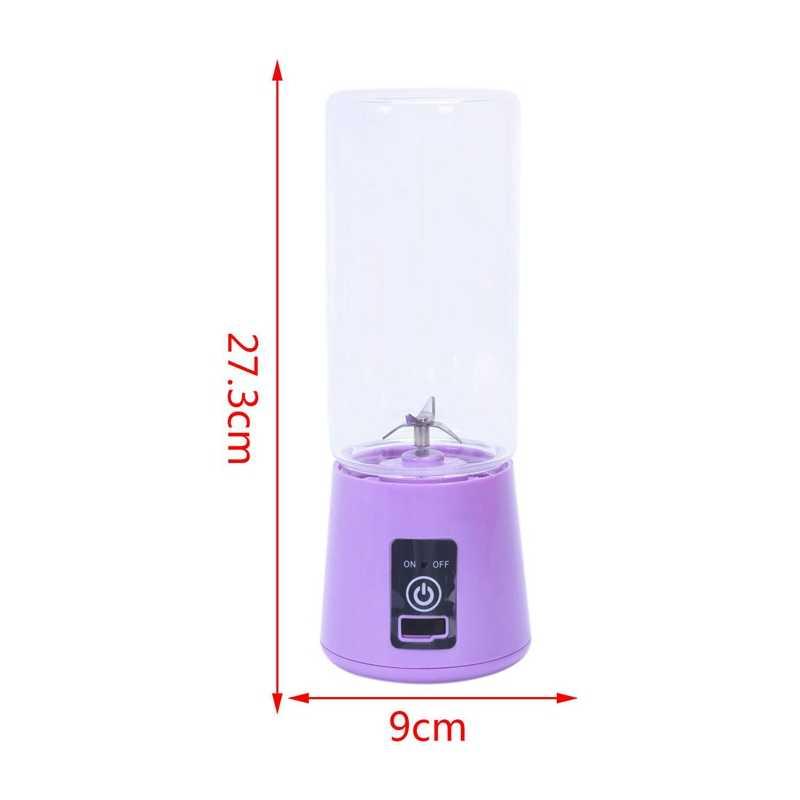 420Ml Portátil Copo Espremedor Liquidificador Suco Usb Multi-Função de Misturador de Frutas 4 Blade Mistura Smoothies Máquina de Comida Para Bebé