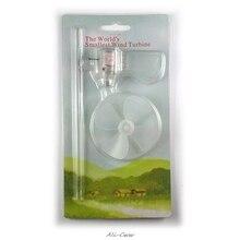 Ветряной генератор турбины светодиодный обучающий инструмент образец модели маленький мини 360 градусов