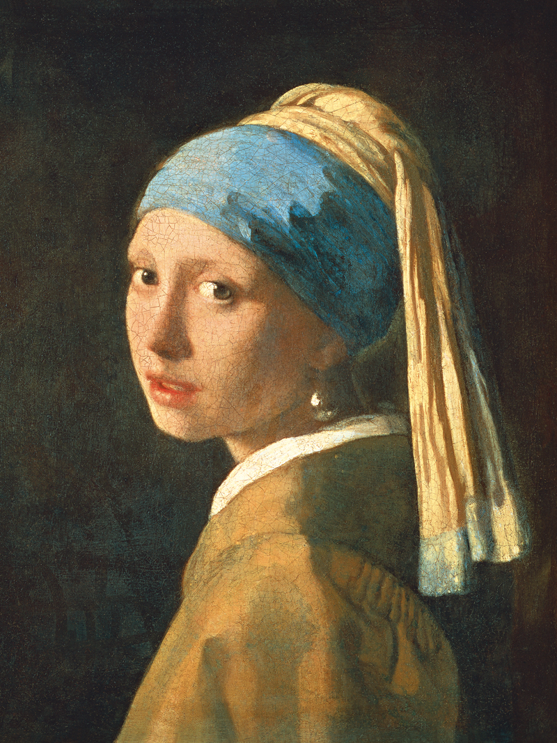 Canvas Painting Portrait Picture Figurative Print Giant Poster Home  Decorative Art The Girl With Pearl Earring