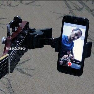 Image 2 - กีตาร์คลิปผู้ถือโทรศัพท์มือถือLive Broadcast Mobiileโทรศัพท์ขาตั้งขาตั้งกล้องคลิปคลิปและคลิปโทรศัพท์มือถือ