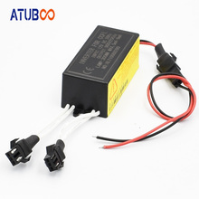 12V CCFL Angel Eye Inverter Halo Ring Driver Daytime Running Light Inverter Male Female Plug With 2 Outputs 2pcs ccfl inverter spare ballast for angel eyes halo rings kit 12v replacement waterproof