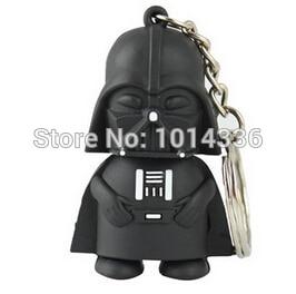 Star Wars black vader USB Flash Drive Card Memory Stick Drives/Thumb/car/Gift USB 2.0 creative Pendrive Drive Stick Pen#21