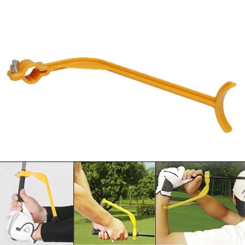 1 Pcs Golf Posture Corrector Swing Guide Trainer Beginner Arm Control Gesture Accessories &T8