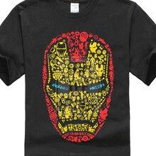 Iron Man T-Shirt Marvel Superhero Avengers