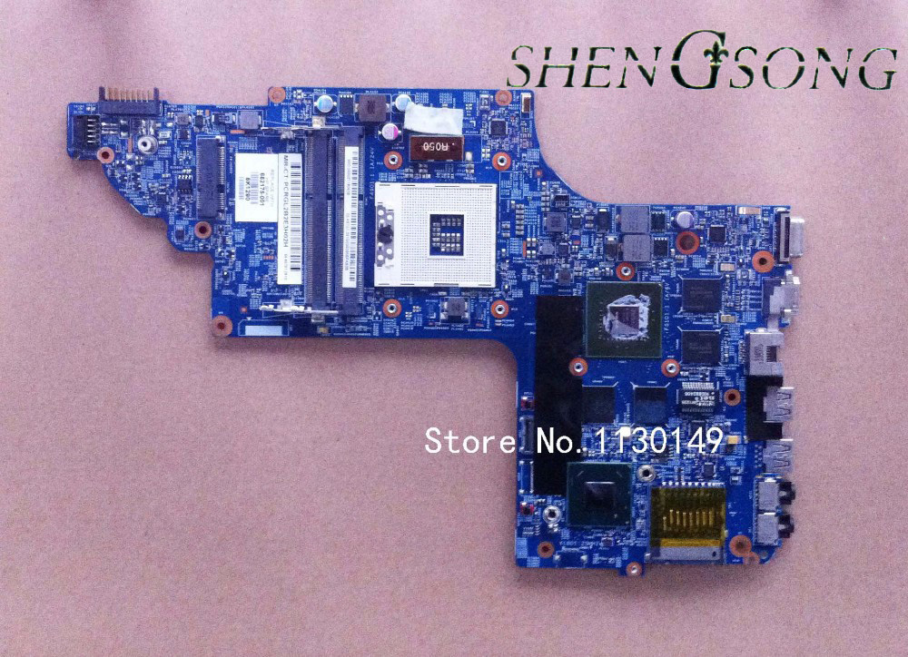 682175-501 Free shipping DV6 DV6-7000 682175-001 Motherboard for HP GT650/2G HM77 Tested OK free shipping for acer tmp453m nbv6z11001 ba50 rev2 0 motherboard hm77 tested